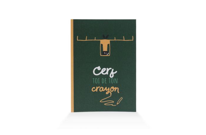 Carnet Insouciant Cerf 1 3760271839637