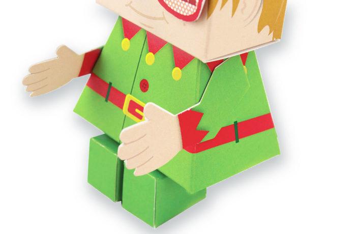Elfun Paper toy 3