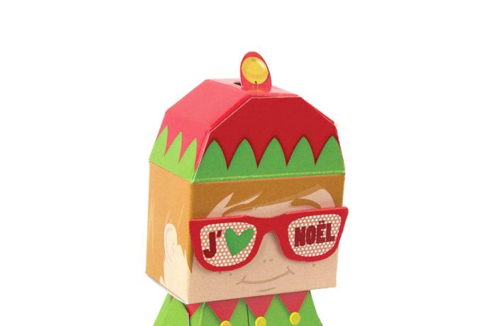 Elfun Paper toy 4