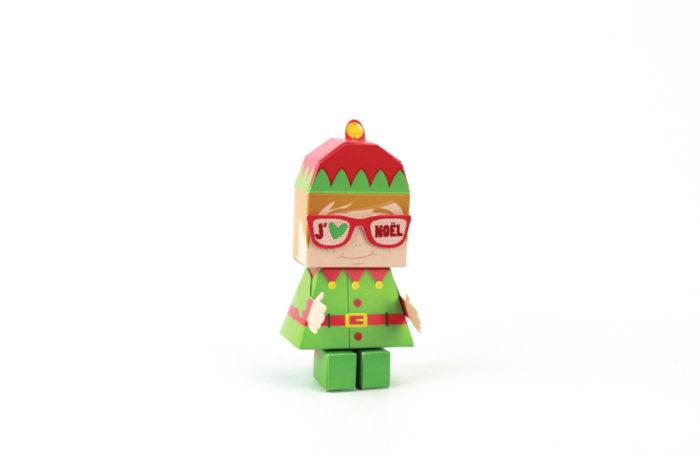 Elfun Paper toy 1