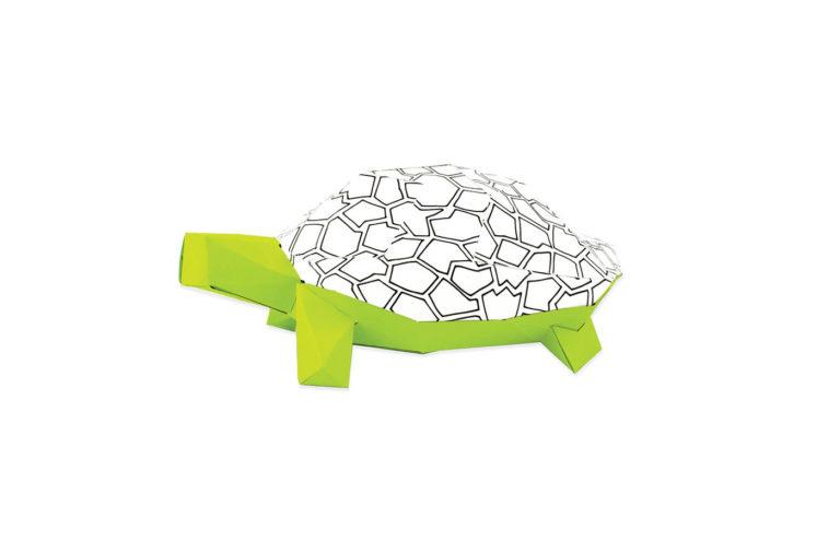 Tortue en papier 3D 10 3760271839651