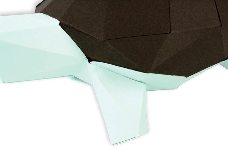 Tortue en papier 3D 9 3760271839651