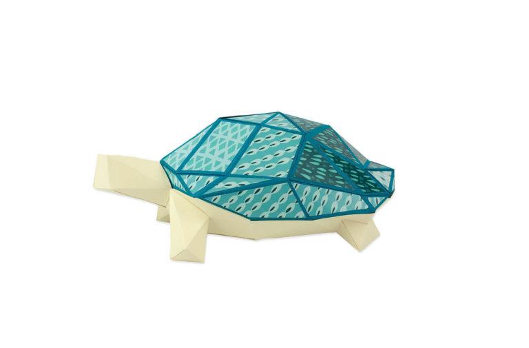 Tortue en papier 3D 4 3760271839651