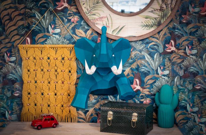 Elephant en papier 3D 6 3701310203729