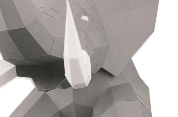 3D paper elephant 17