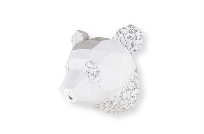 Trophée à colorier Petit Panda 4 3760271839217