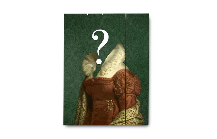 Portrait ancien sur bois 4 3650149006196