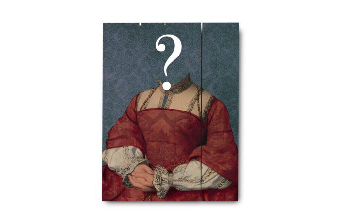 Portrait ancien sur bois 5 3650149006196