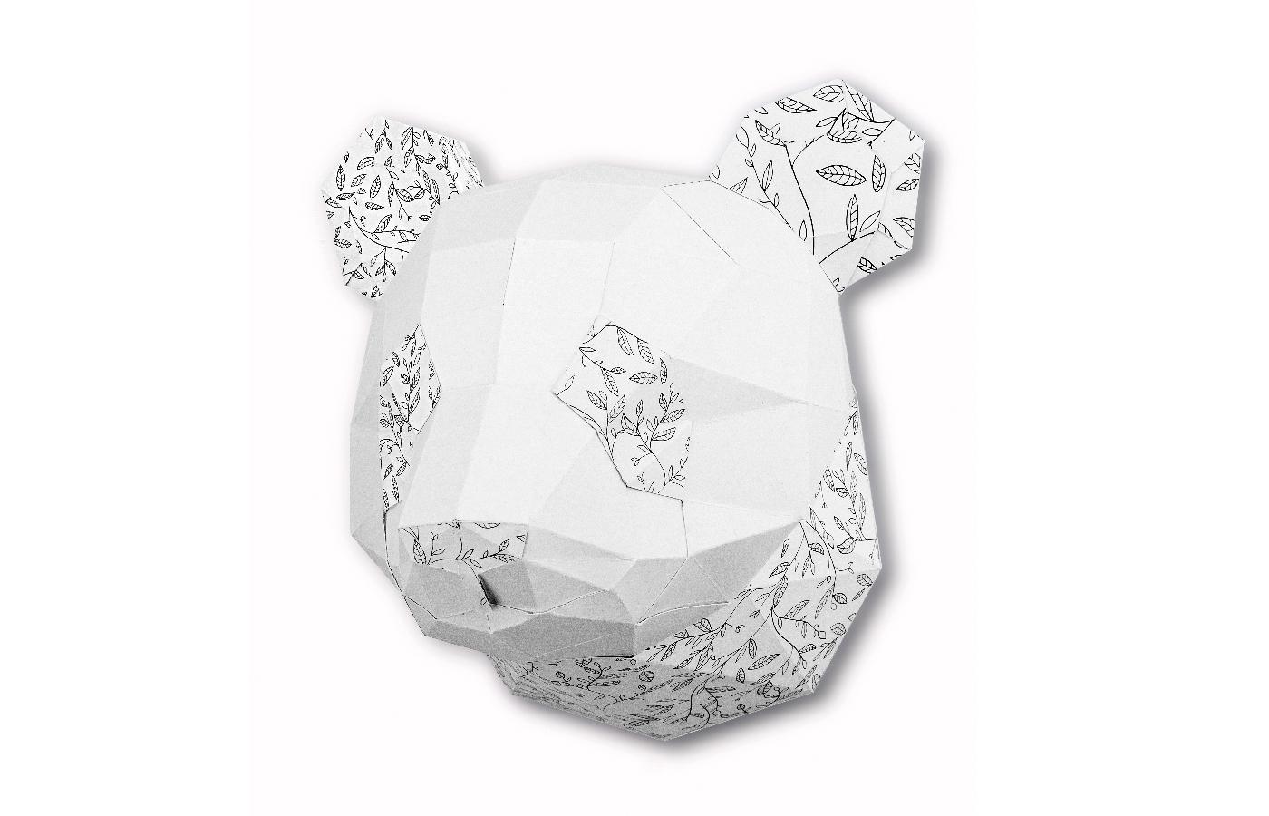 Trophée à colorier Petit Panda 5 3760271839217