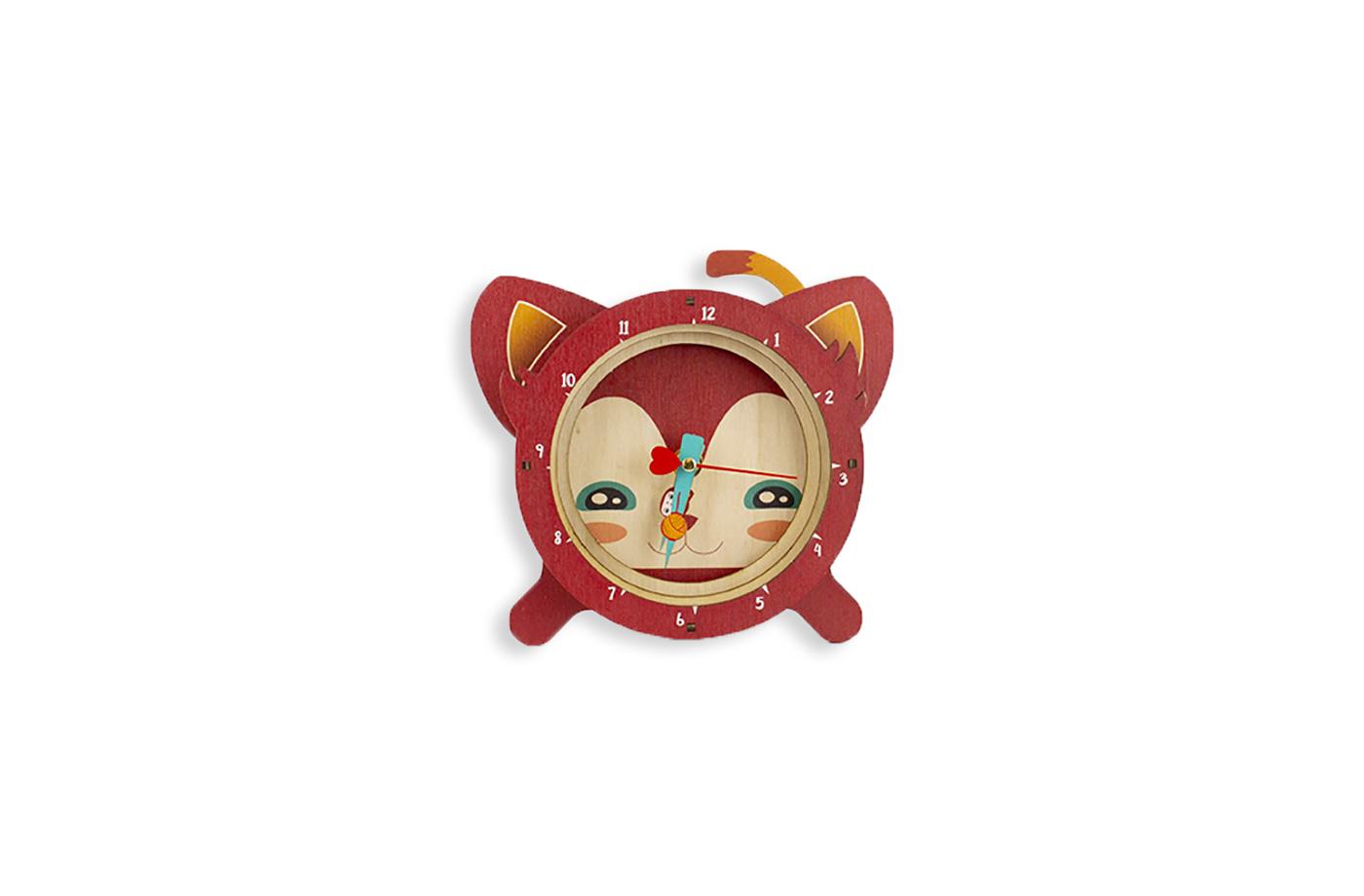 Horloge à poser animaux 10 3760271839194
