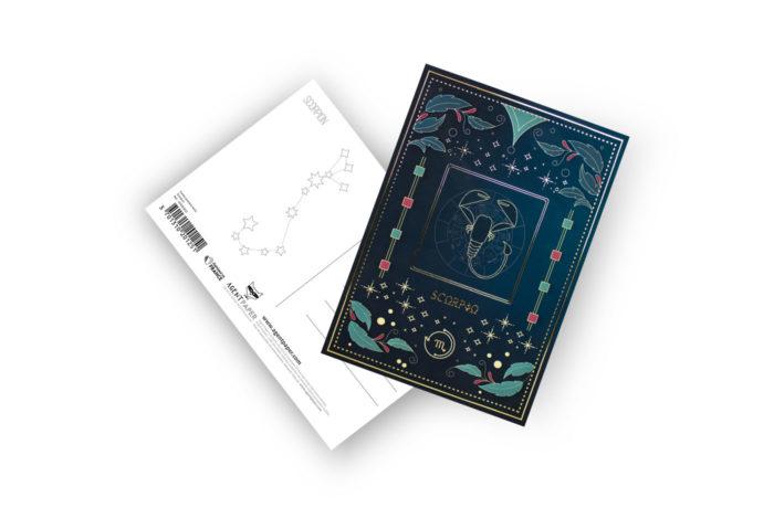 Cartes postales Astro 12 3701310201282