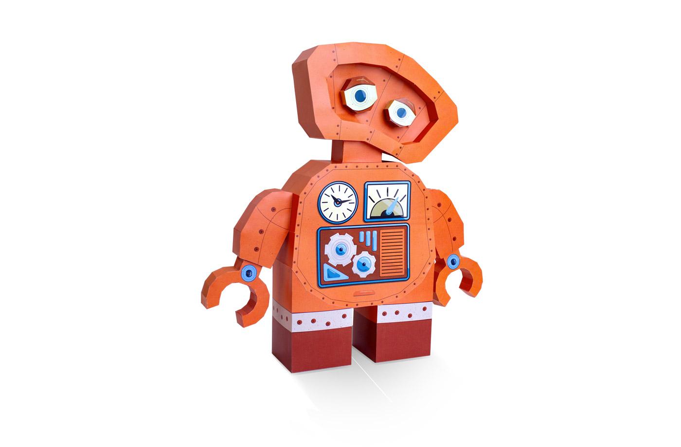 Robot en papier 3D 7 3701310201077