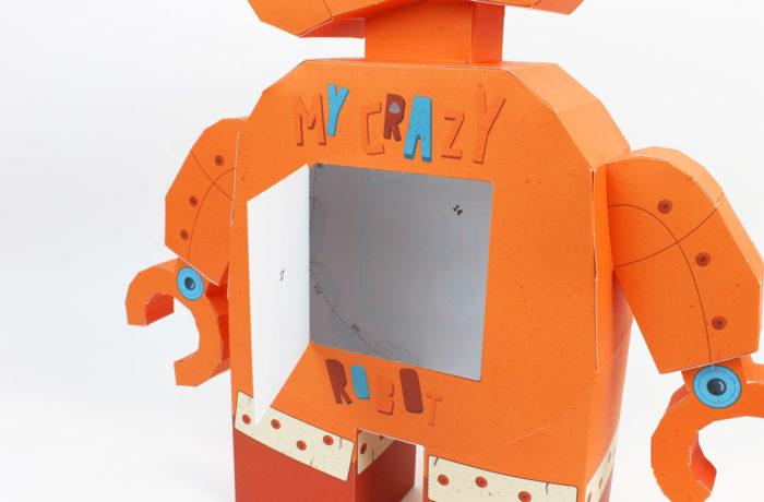 3D paper robot 4