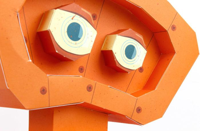3D paper robot 3