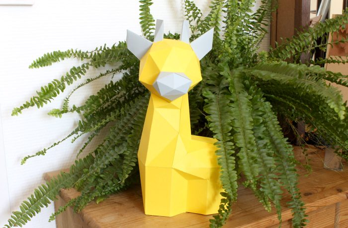 Babies Giraffe Trophy 2