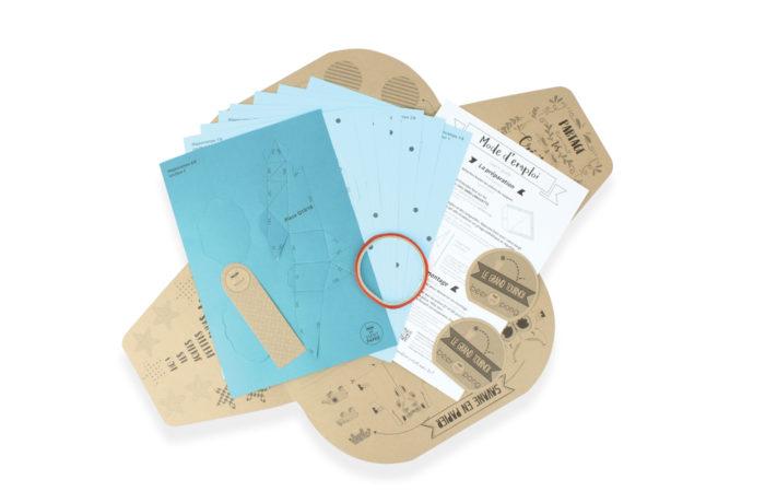 Hippocampe en papier 3D 6 3701310202272