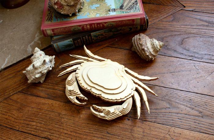 Wooden crab 3