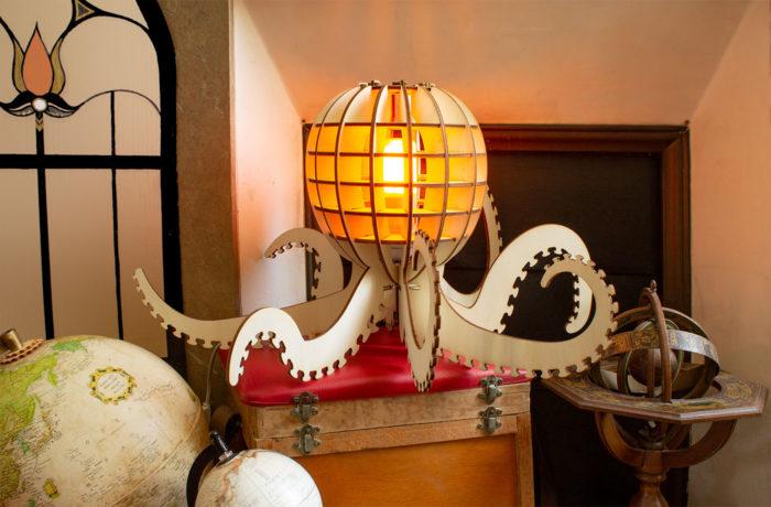 Wooden octopus 2