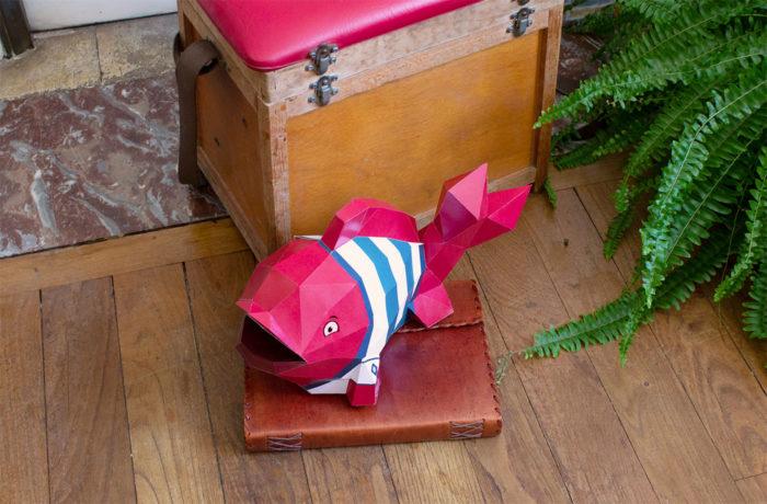 3D paper fish 2