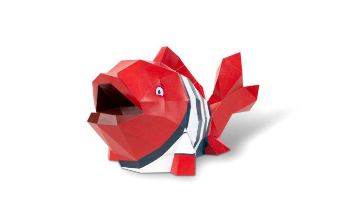 3D paper fish 1