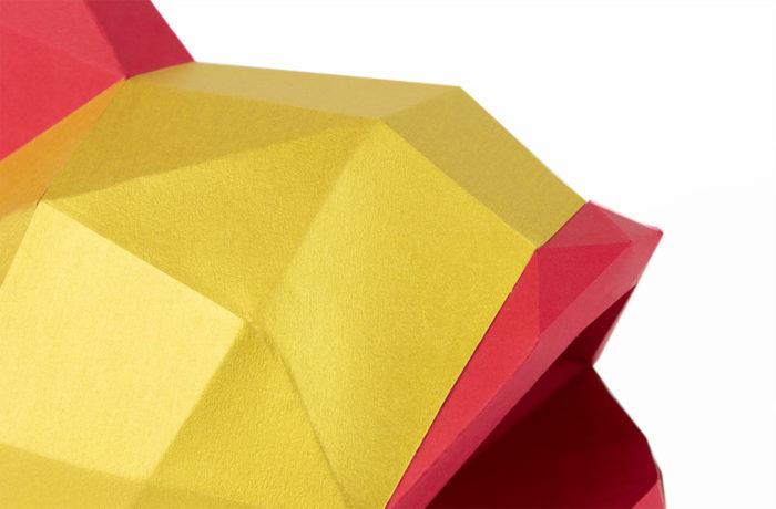 3D paper golden fish 2