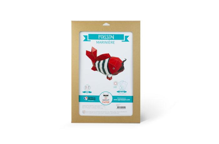 3D paper fish 6