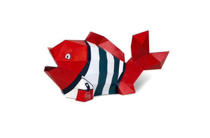 3D paper fish 3