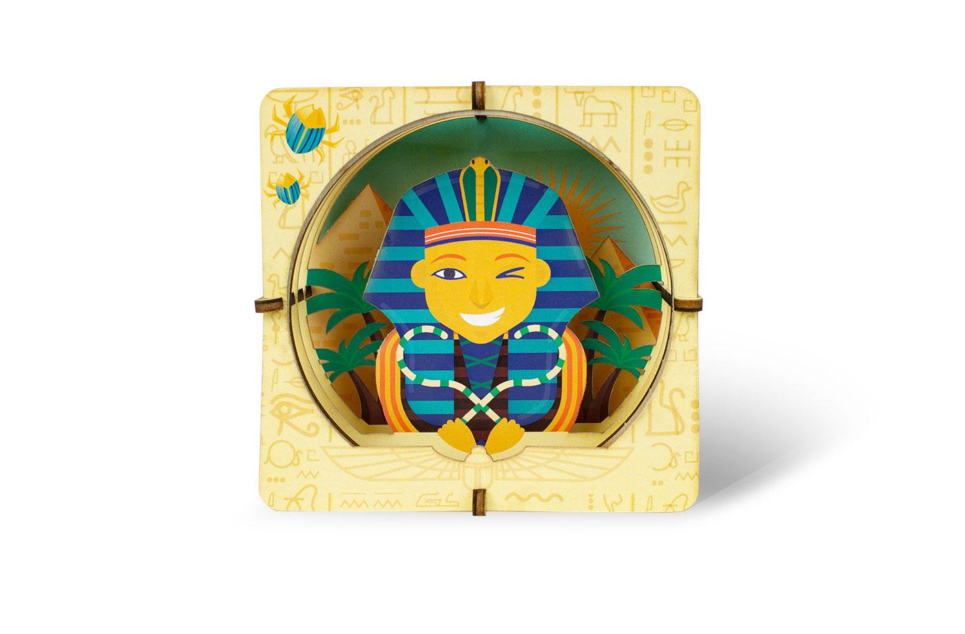 cadre pharaon