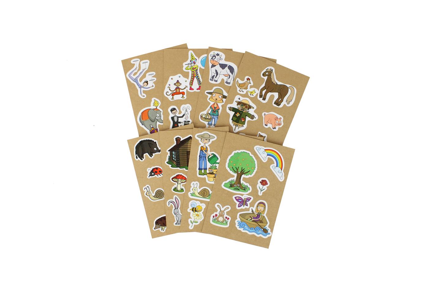 8 Cartes à Sticker 5 3701310203217