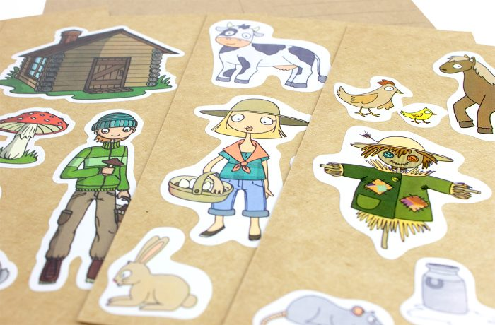 8 Cartes à Sticker 4 3701310203217