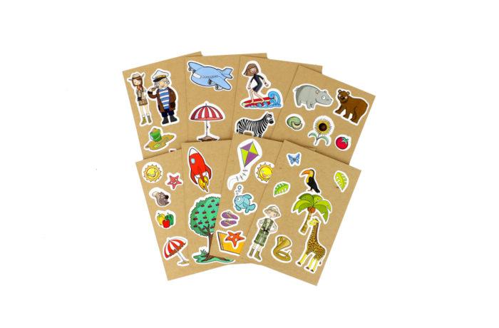 8 Cartes à Sticker 2 3701310203217
