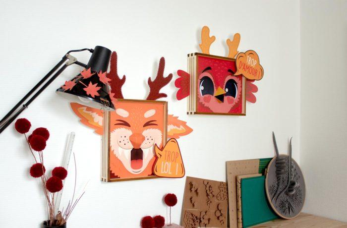 Framed Animals 1