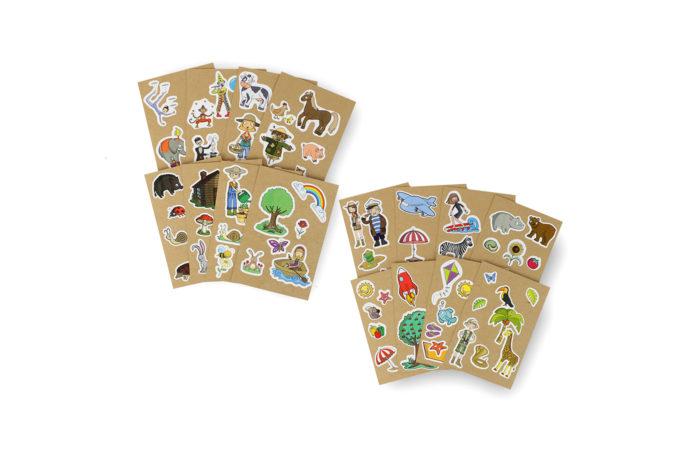 8 Cartes à Sticker 3 3701310203217