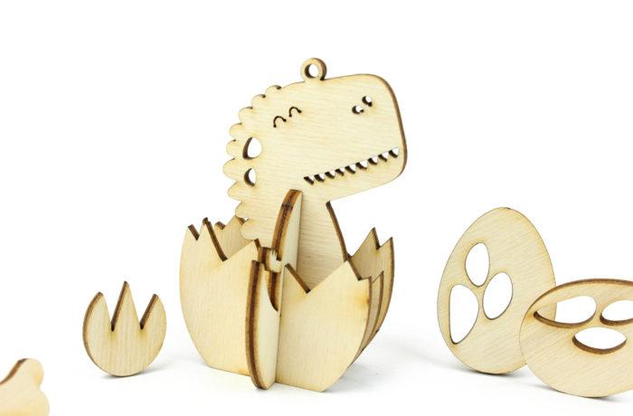 Wooden Dino Thingamajig 2