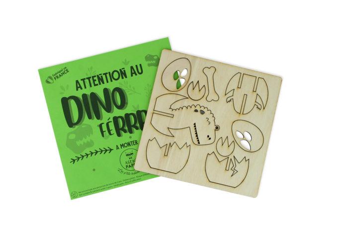 Wooden Dino Thingamajig 5