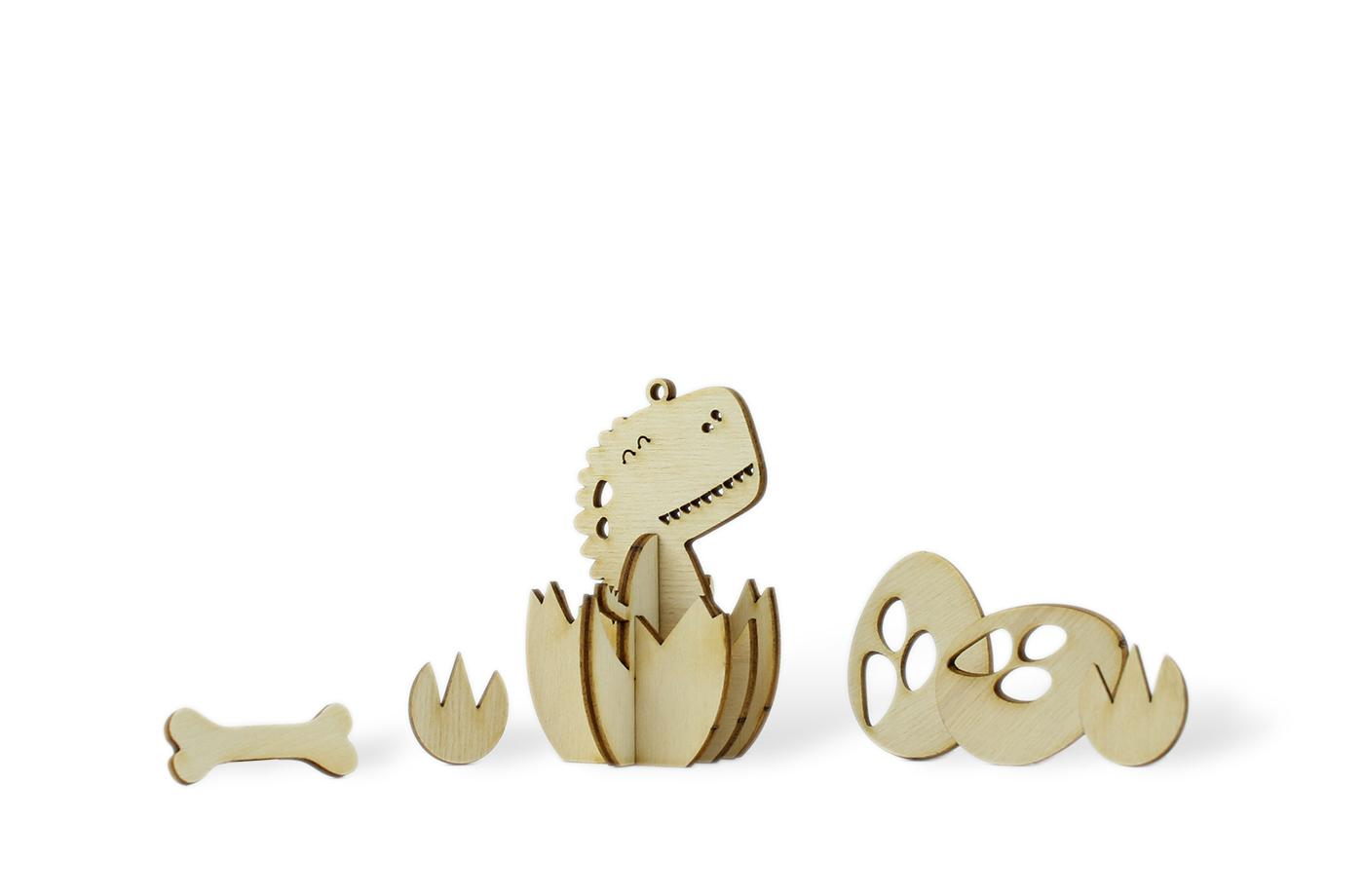 Les p'tits bidules en bois Dino