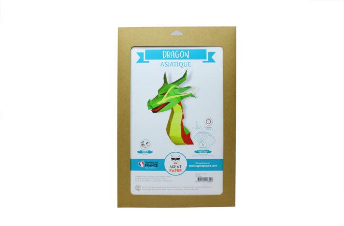 3D paper Asian Dragon 5