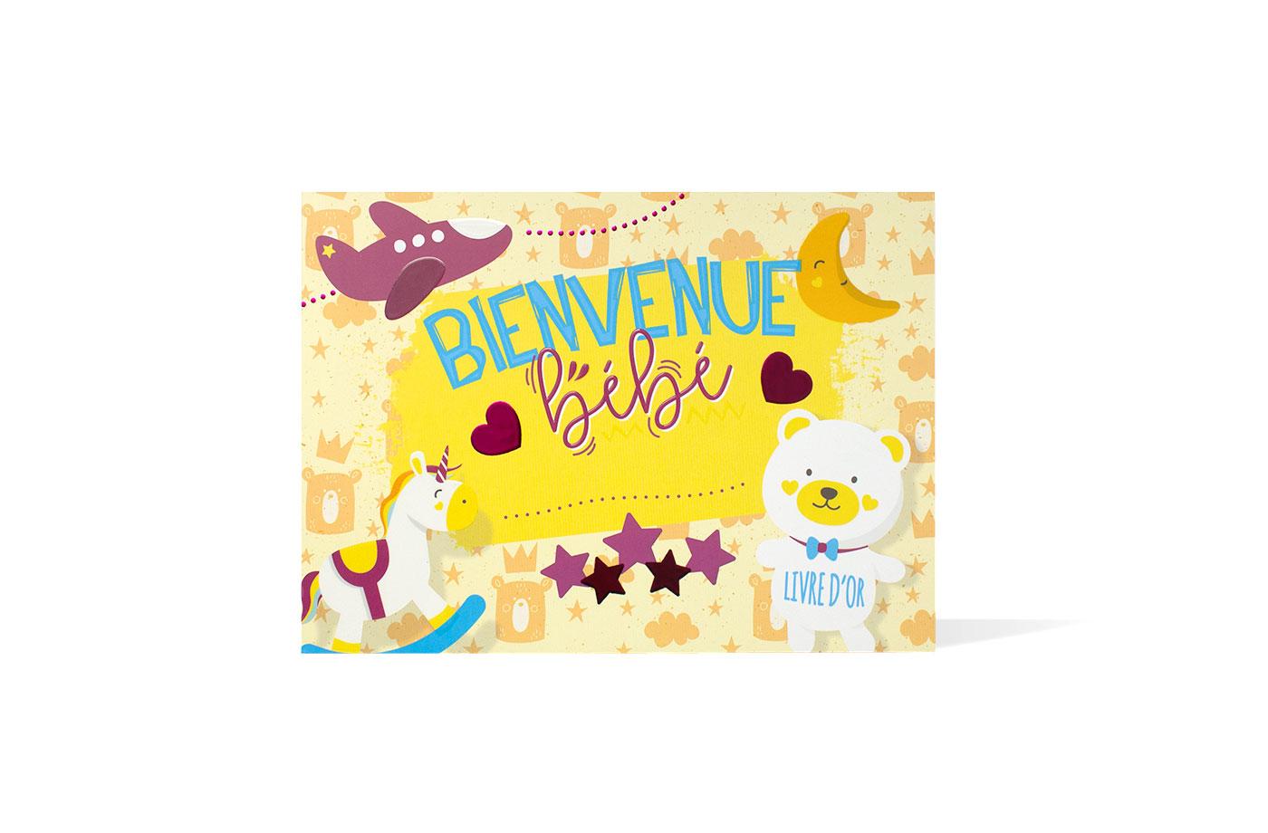 Livre d'or Naissance 5 3701310202227