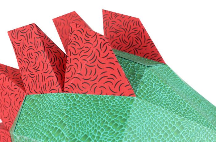 Petit dino en papier 3D 3 3701310203002