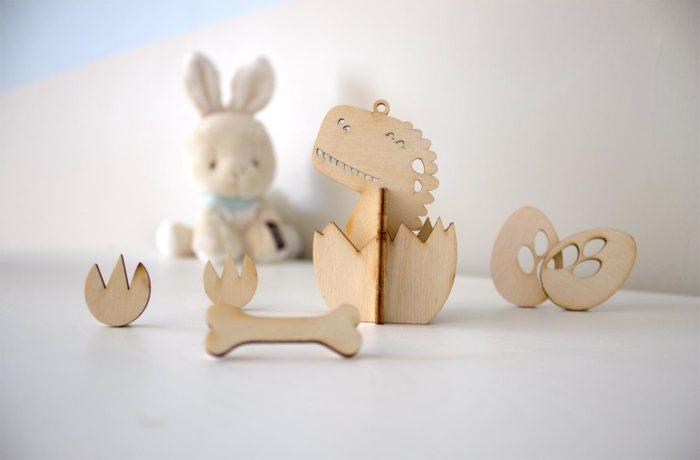 Wooden Dino Thingamajig 1