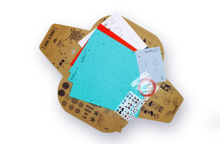 Petit dino en papier 3D 6 3701310203002