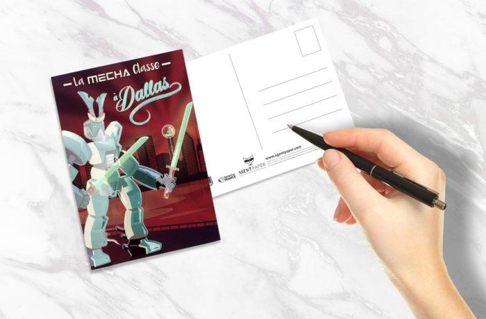 Carte postale Mécha Classe 2 3701310202784