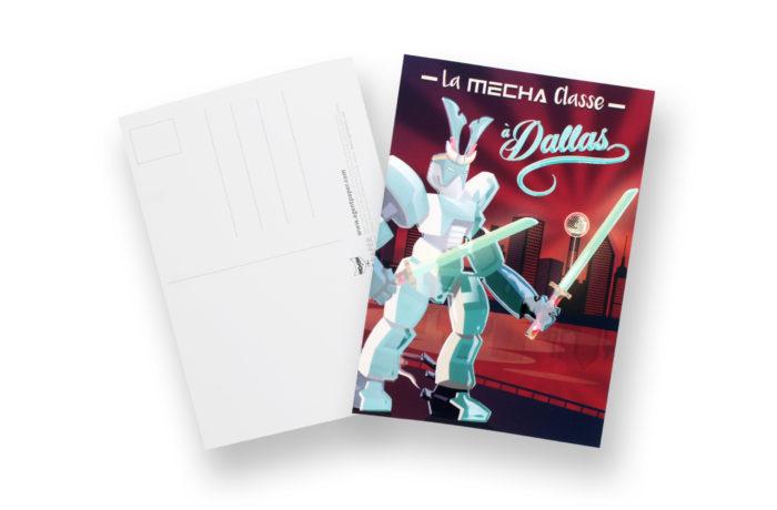 Carte postale Mécha Classe 1 3701310202784