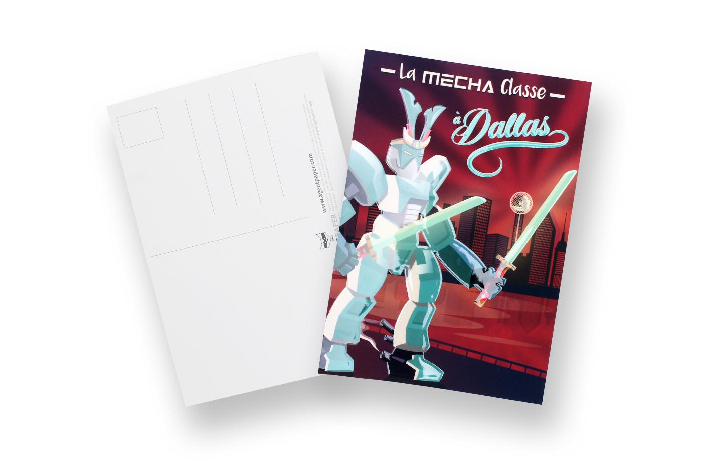 Carte postale Mécha Classe 5 3701310202784