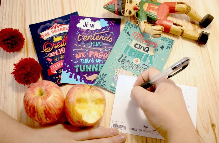 Cartes postales Tartines de Proust 2 3701310202920