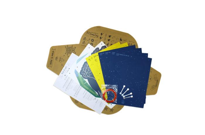 Cerf en papier indigo Collector 5 3701310203675