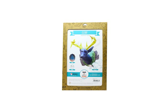 Cerf en papier indigo Collector 4 3701310203675