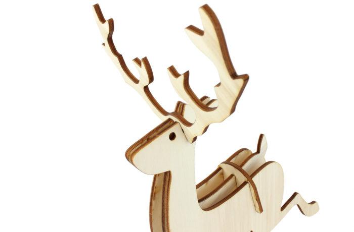 Petit renne en bois 4 3701310203743