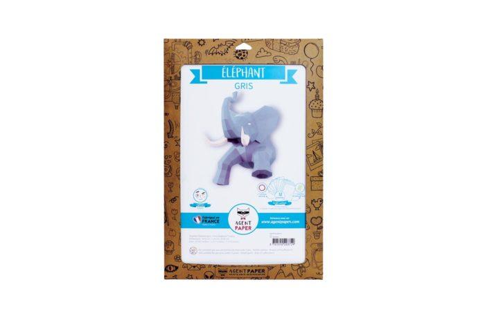 3D paper elephant 19