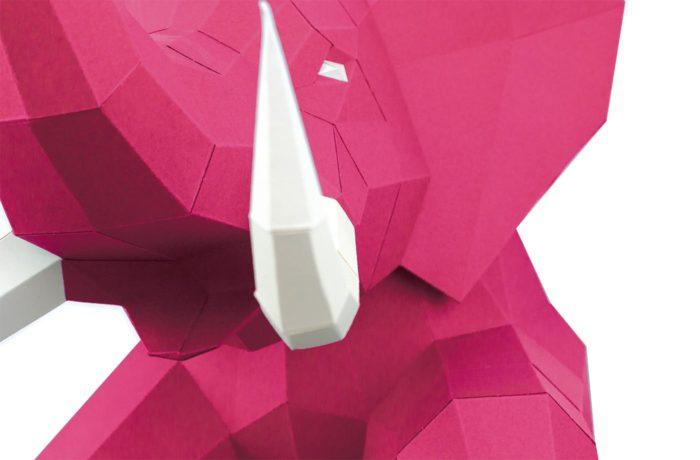3D paper elephant 12
